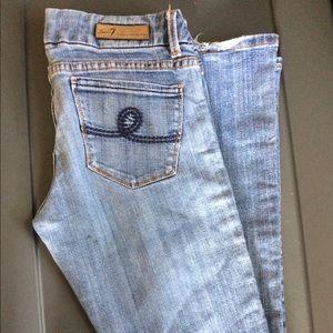 Seven7 premium bootcut Jeans